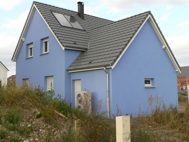 La maison de nicolas et muriel - Chanson une maison bleue ...